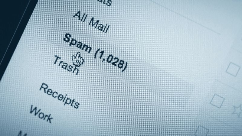 Email no spam hack