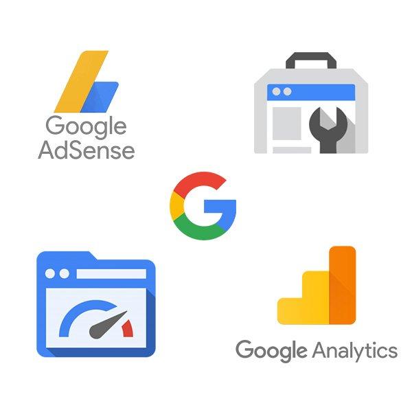 Google Site kit - ilustracja graficzna