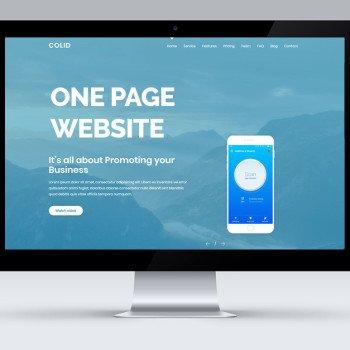 one-page-webiste-thumbnail