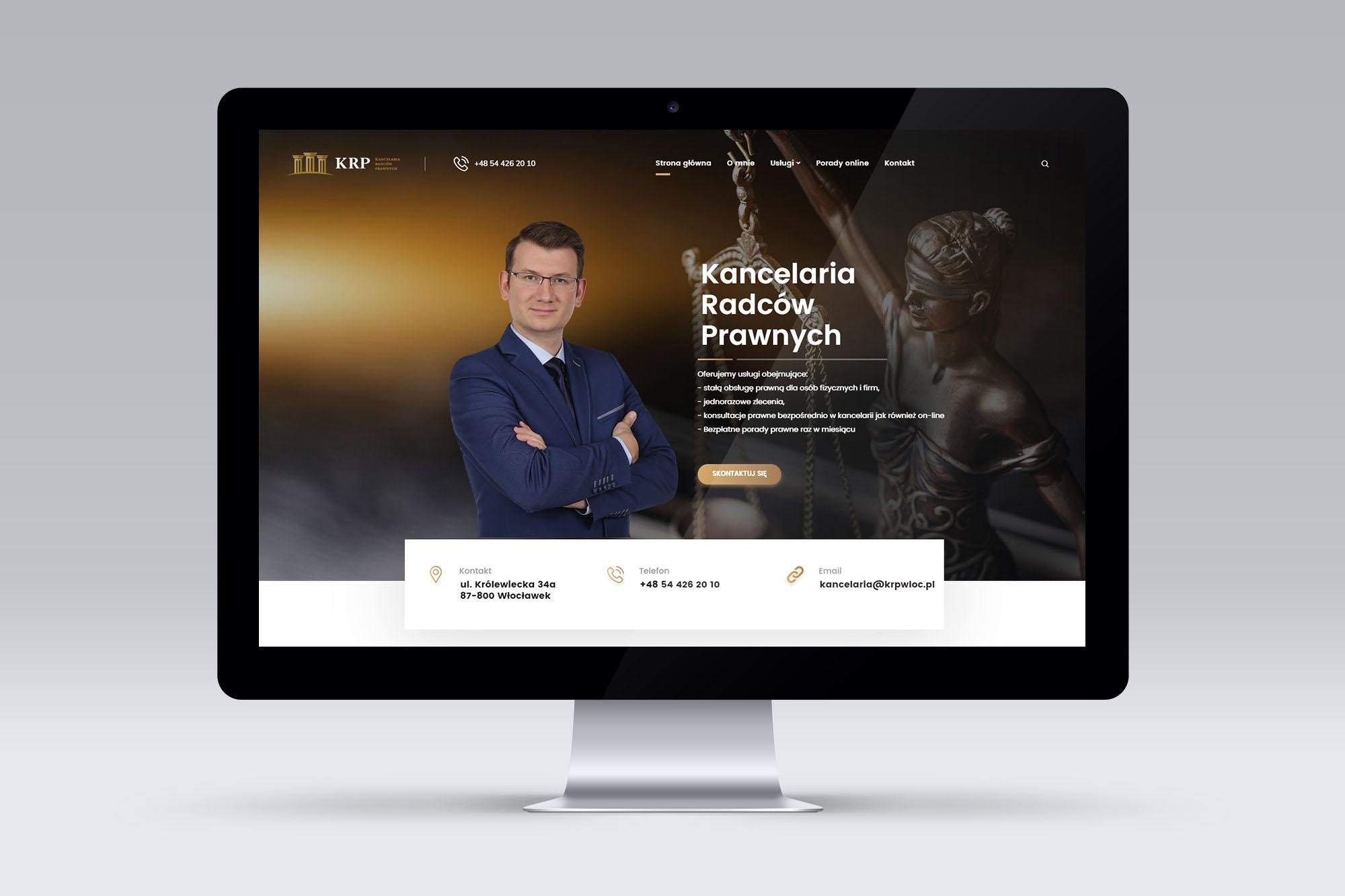 KRP - Kancelaria Radców Prawnych - portfolio 1
